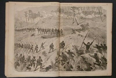 New York Illustrated News 8/22/1863  Battle of Wapping Heights  Virginia