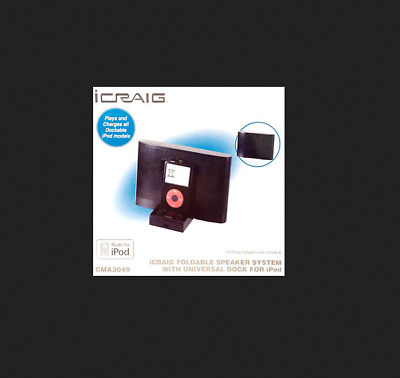 NEW iCraig CMB3210 Speaker System for iPhoneiPod