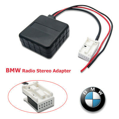 Bluetooth Module Music Stream Aux in cable adapter for BMW E60 Series UK