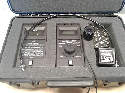 FM Systems Camera Master CM 1 VIDEO METER Meter VIDEO TIME GENERATOR ETC