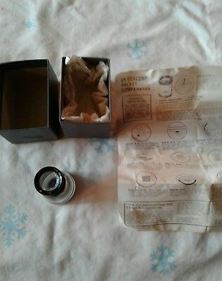 Vintage Eye Comparator #30, 539 lense.  With box and paperwork