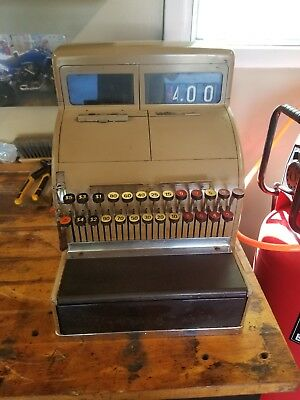1940s vintage national cash register with key working condition