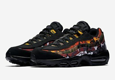 9546bc01f7e7 Nike Air Max 95 ERDL Party Camo BLACK multicolor Mens AR4473-001 sz 4-