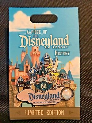 A Piece Of Disneyland History *Diamond Celebration* LE Pin