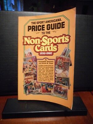 1991 Sport Americana Price Guide to the Non Sports Cards 1930-1960