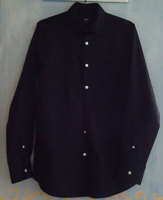 CHEMISE homme - noire / manches longues - Taille S