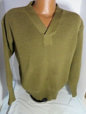 WW2 US Army V neck issue Sweater in very Good shape original