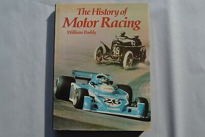 The History of Motor Racing Coffee Table Book