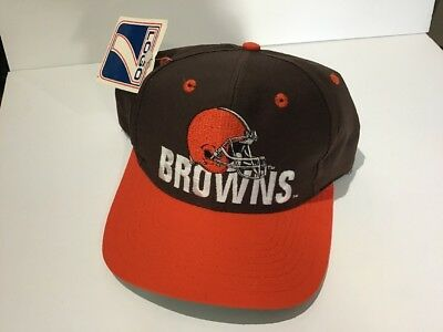 3460898cfee NWT DEADSTOCK VINTAGE Cleveland Browns Annco Corduroy Snapback Hat ...