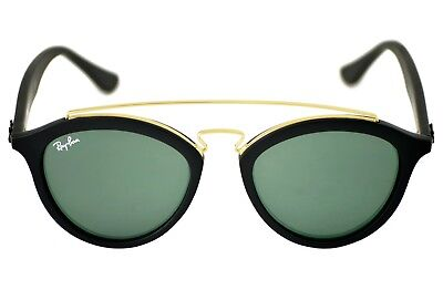 ef28682aaf RAY-BAN GATSBY I RB4256 601 71 Black Frame Green Classic 46mm Lens ...