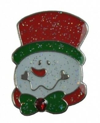 Navika Snowman Glitzy Ball Marker with. Crystal and Hat Clip. Navika USA Inc.