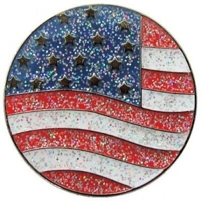 Navika US Flag Glitzy Ball Marker with Hat Clip. Navika USA Inc.. Free Shipping