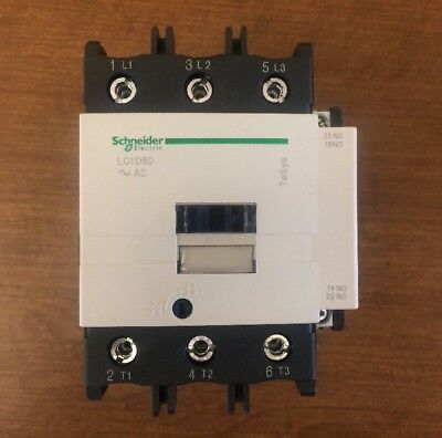 Schneider Electric LC1 D80U7 Magnetic Contactor 230-240V TeSys - 044309 80Amps