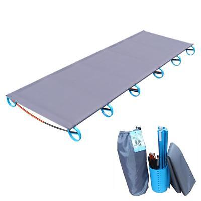 Camping Mat Bed Ultralight Sturdy Comfortable Portable Single Folding Camp Bed