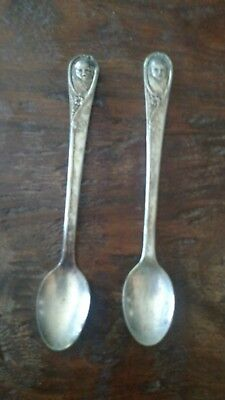Vintage Antique Winthrop Silver Plate Gerber Baby Spoon (LP2018921)