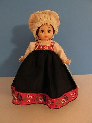 Vintage Madame Alexander Norway Doll #784 Original Box & Hang Tag