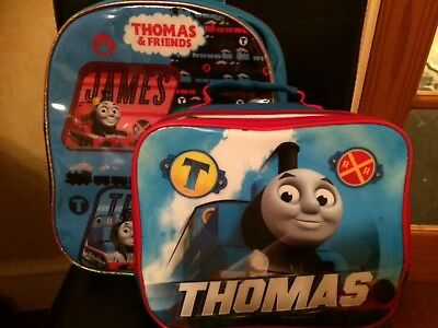 Thomas and friends school rucksack and lunch bag great condition