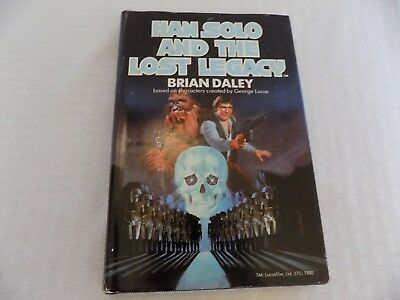 Han Solo and the Lost Legacy 1980 Vintage HC Book Club Edition Ballantine Books