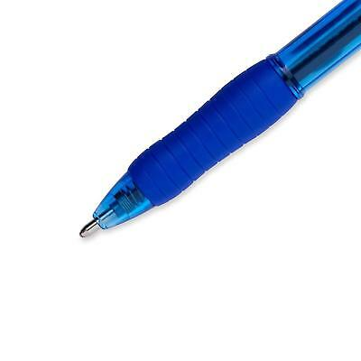 Paper Mate Profile Retractable Ballpoint Pens, Bold (1.4Mm), Blue Ink, 12 Count