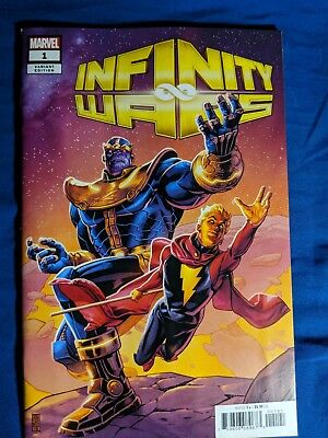 Infinity Wars #1 Cover F Incentive JG Jones Promo Variant Cover