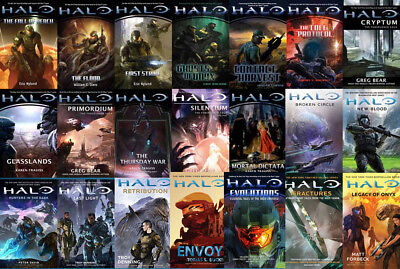 21 MP3 Audiobooks - The HALO Science Fiction Series
