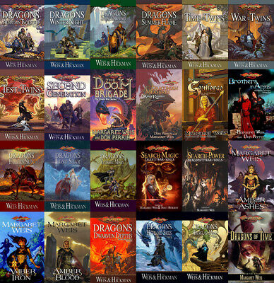25 MP3 Audiobooks - DRAGONLANCE The Margaret Weis Collection