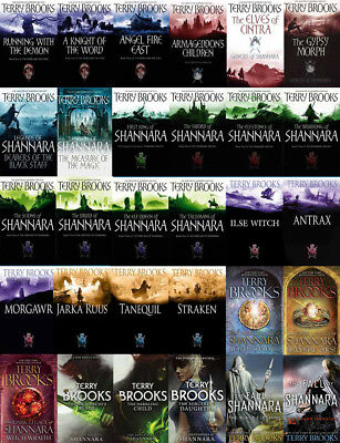 30 MP3 Audiobooks - The SHANNARA Series By Terry Brooks