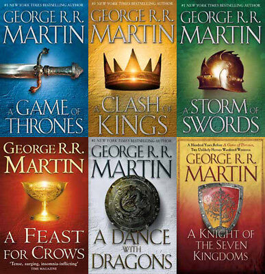 6 MP3 Audiobooks - The GAME OF THRONES Series By George RR Martin
