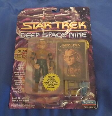 Star Trek Deep Space Nine QUARK Action Figure by Playmates toys from 1993