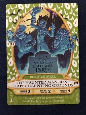 Magic Kingdom Sorcerer Card -  Haunted Mansion 2013 Not So Scary Halloween Party