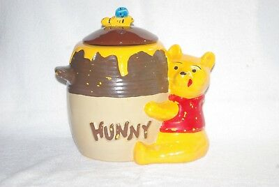 Vintage COOKIE JAR Winnie the Pooh Hunny Honey Pot CALIFORNIA ORIGINALS 907