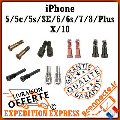 Pentalobe Torx Kit Vis Iphone X / 5 / 5C / 5S / Se / 6 / 6Plus / 6S / 7 / 8 Plus