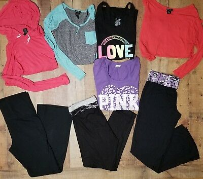 Womens Lot of Athletic Clothing Size Large / Extra Large Workout Yoga Pants, Top