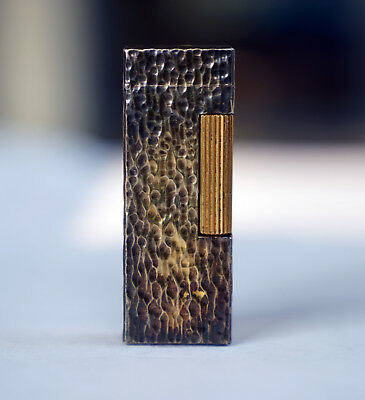 Dunhill Gold Textured Rollagas Lighter