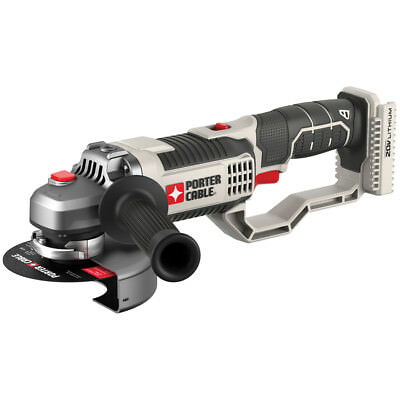 New PCC761B PORTER CABLE 4.5 in 20 Volt Cordless Angle Grinder Tool Only PCC761B