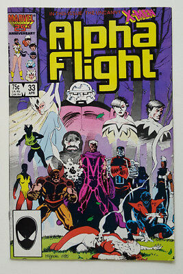 Alpha Flight #33 in VF/NM Cond.1985 Marvel Comics / 1st App. Lady Deathstrike