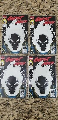 Ghost Rider #15 - Glow in the Dark, 1st Print (Marvel, 1990) lot of 4