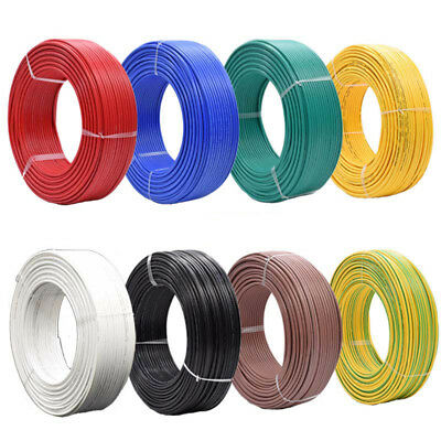 1/3/5/10M Stranded UL1015 Auto Electrical Equipment Wire Cable 600V 105°C 22AWG