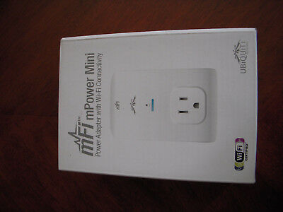 Ubiquiti UBNT mFi mPower Mini Power adapter outlet with WiFi