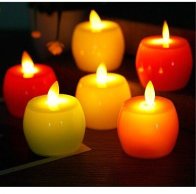 LED Candle Lights Tealight Flickering Dancing Fake Tea Light Party Home Decor