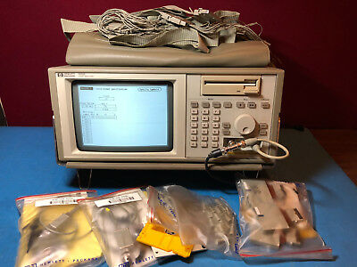 HP Mixed Signal Scope HP1652B w/  pods, grabbers, flywires, 2- HP10430A probes