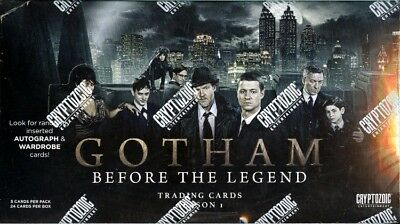 2016 Gotham: Before the Legend Season 1 Factory Sealed Trading Cards Box BATMAN