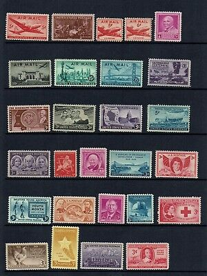 USA COLLECTION...1940s ...MINT STAMPS