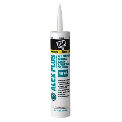 DAP ALEX   Clear Paintable Latex  all purpose ,Window & Door Caulk Plus Silicone