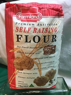 Full Unopened Farmland Self Raising Flour Victoria Australia/Grocery/Advertising