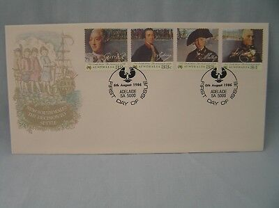 First Day Cover Australia - New South Wales the Decision to Settle