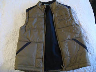 BOYS / GIRLS R.M.Williams COLTS  ZIP UP PUFFER VEST LINED VERY THICK WARM SIZE 6