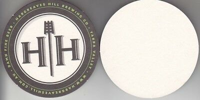 Hargreaves Hill Brewing Co Round Australian Beer Coaster - Beer Mat