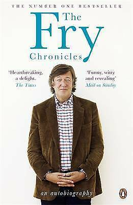 The Fry Chronicles by Stephen Fry (Paperback, 2011) LIKE NEW, FREE POST+TRACKING