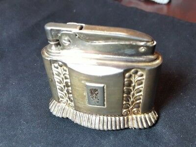 "Ronson ""Diana"" Silver Plated Table Lighter  ** Free Ship US48!"